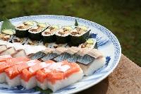 鯖寿司、鮭寿司も人気です!