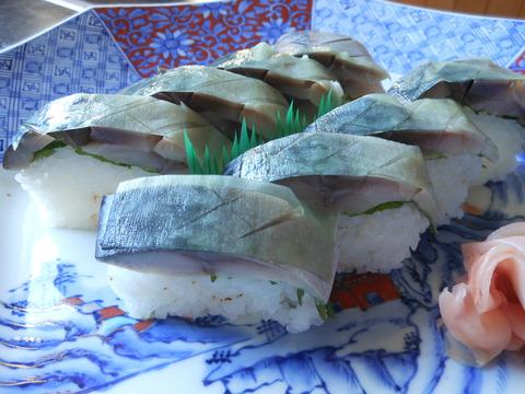 鯖棒寿司(要予約)
