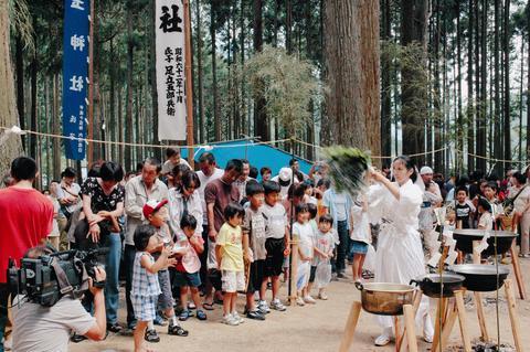 青玉神社の曳山まつり