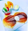 カフェフラットのホットケーキ