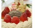 エーデルのクリスマスケーキ¥3500