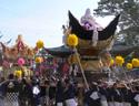 佐保神社の秋祭り